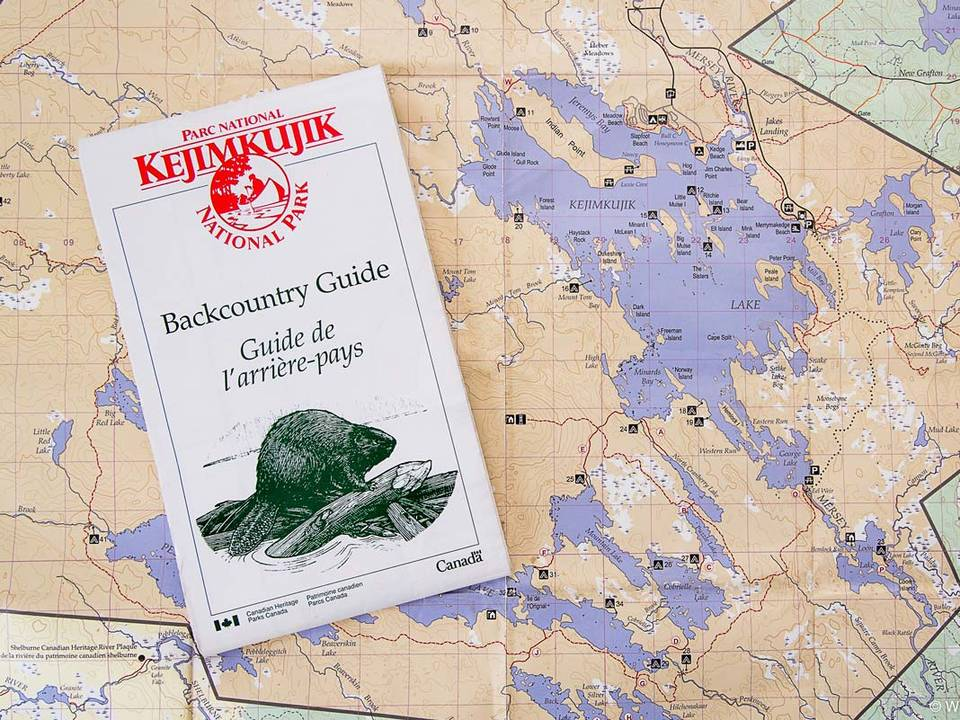 Keji Backcountry Guide Map