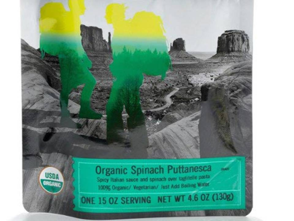 Organic Spinach Puttanesca