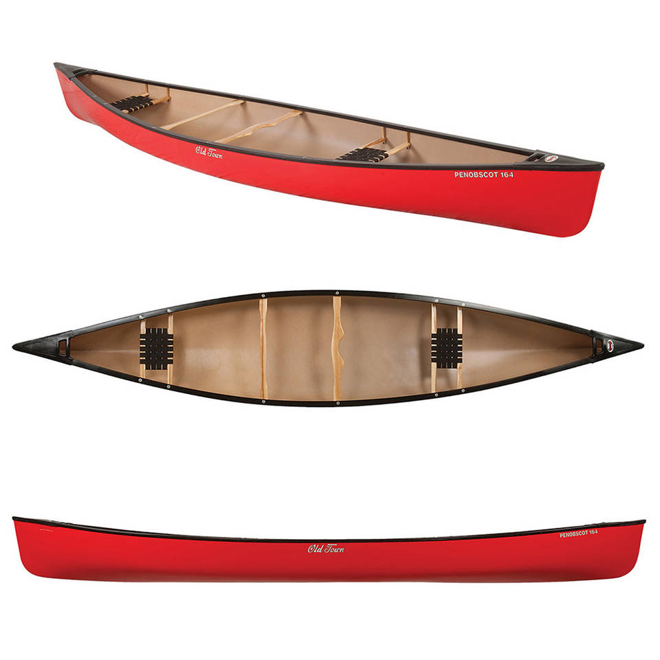 17ft Polyethylene Canoe (heavy & stable)
