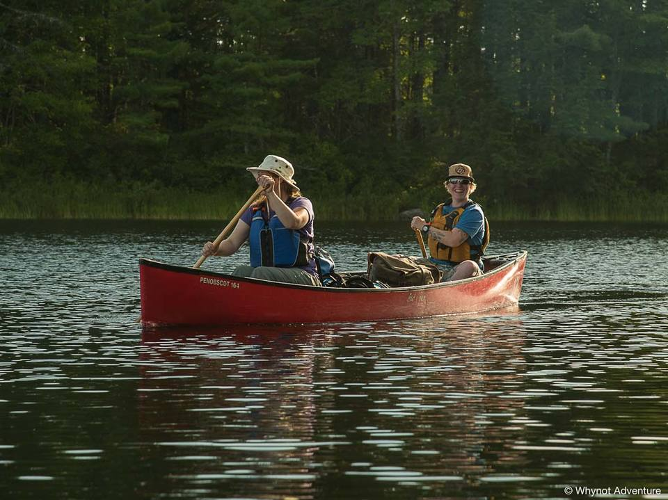 See how fun canoe tripping is?