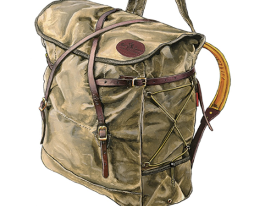 Canvas Canoe Pack 70L